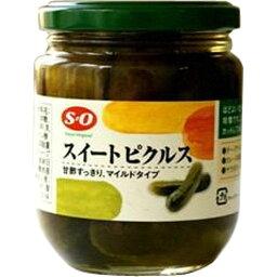 讃陽食品 SO スイートピクルス 瓶240g [6710]