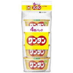 マルちゃん ワンタン しょうゆ味 4食入 カップ 32g×4