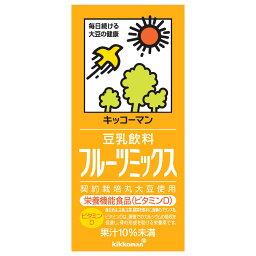 フードケミ 豆乳飲料 フルーツミックス 1L