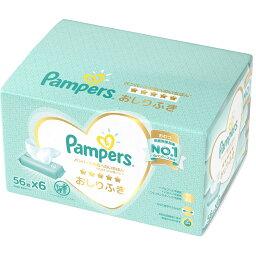 パンパース おしりふき 肌へのいちばん 1セット(56枚×6個) P&G