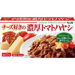 エスビー食品 チーズ好きの濃厚トマトハヤシ 165g