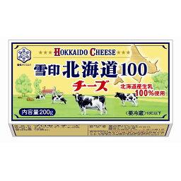 雪印メグミルク 北海道100 チーズ 200g [7227]