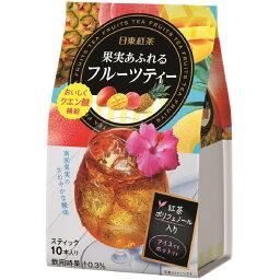三井農林 日東紅茶 果実あふれるフルーツティー10包