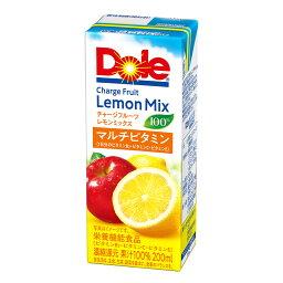 ドール チャージフルーツ レモンミックス100% 200ml