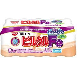 日清ヨーク ピルクル Fe プルーン味 10本入り 65ml×10本