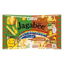 カルビー Jagabee(じゃがビー) パーティーパック 108g 1セット(3袋)