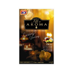 バブ The Aroma Luxury Feeling 40g×12錠 花王