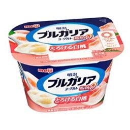 明治 ブルガリアヨーグルト 脂肪0 とろける白桃 180g