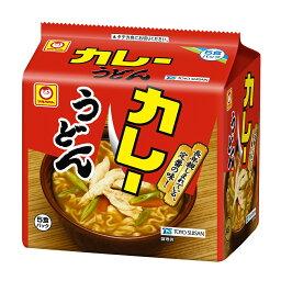 東洋水産 マルちゃん カレーうどん 5食パック 袋101g×5 [2263]