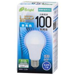 LED電球 E26 100形相当 広配光 密閉器具対応 昼光色_LDA13D-G AS25 06-2926