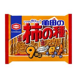 亀田の柿の種 9袋詰(265g)