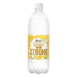 西友 みなさまのお墨付き 伊賀の天然水仕立て 強炭酸水レモン STRONG 1000ml