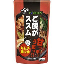 ヤマサ醤油 ご飯がススム キムチ鍋つゆ 750gパウチ 3袋