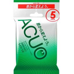 ACUO グリーンミント 14粒X5本