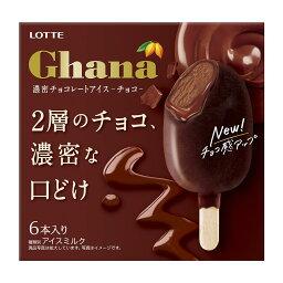 ガーナ 濃密チョコレートアイス <チョコ> 6本入り
