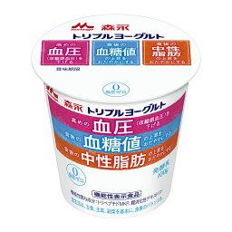 森永乳業 トリプルヨーグルト 脂肪ゼロ カップ100g