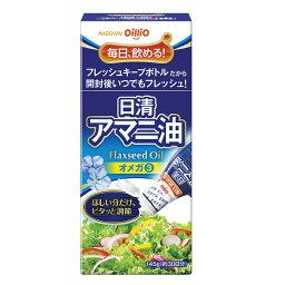 日清オイリオの亜麻仁油