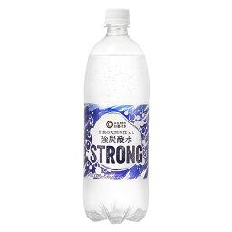 西友 みなさまのお墨付き 伊賀の天然水仕立て 強炭酸水 STRONG 1000ml