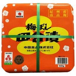 中田食品 梅ぼし 田舎漬 500g