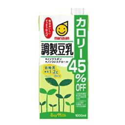 マルサンアイ 調整豆乳 カロリー45%オフ パック1000ml