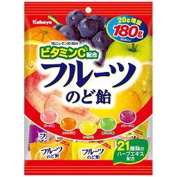 カバヤ フルーツのど飴
