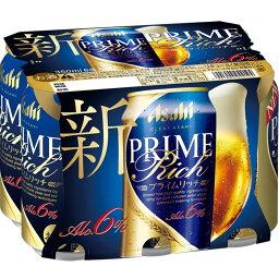 クリアアサヒ プライムリッチ 6缶P東京2020西友CP 350×6