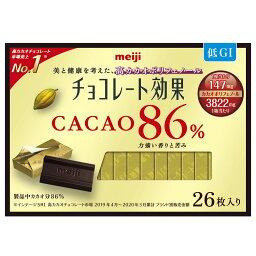 チョコレート効果カカオ86%26枚入り 130g×6箱